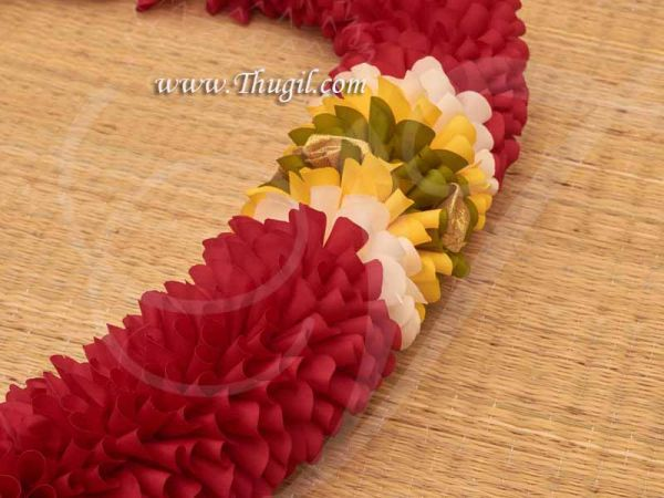 Photo Frame Decoration  Artificial Flower Indian Design Garlands Buy Now 31