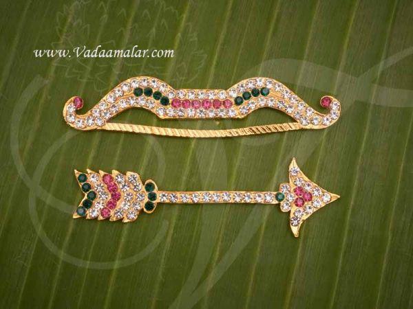Vil Ambu for Amman Metal Weapon Symbol Jewelry Goddess Ornament Buy Now 3