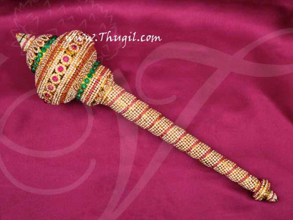 Lord Hanuman Gada Mace Weapon Jewellery Hindu God Buy Online 19