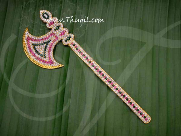 Parasu Axe Jewellery Ganesha PrasauRam Durga Hindu God Buy Online 8.5