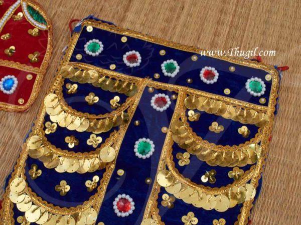 Raja Alankaram For Ganesh Krishna Murugan Maruthi Murthi Dress Buy Now 2 feet