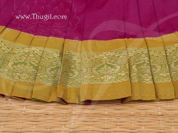 Costume Deity Saree Skirt for Kalasam decoration Hindu Goddess for Statues Online Buy Now