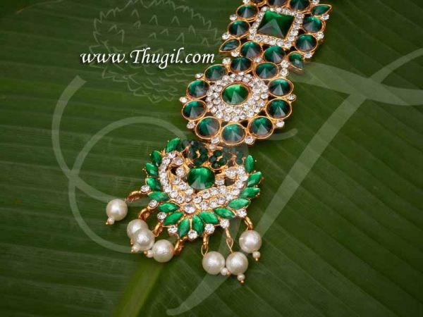 Necklace For Swamy Decoration Haram Hindu idol Ornaments Buy Now 7.5