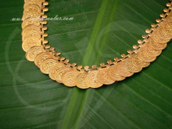 Small Coin Necklace Kasumalai Kasumala Short Lakshmi Buy Now