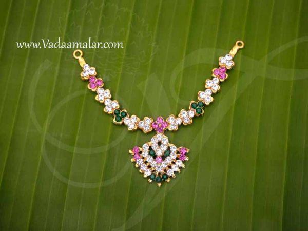 Small Size Deity Necklace Jewellery Stone Ornament 2.8
