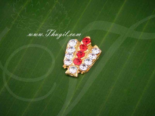 Vishnu Namam Symbol Jewellery For Statues Idols Buy Now 0.6