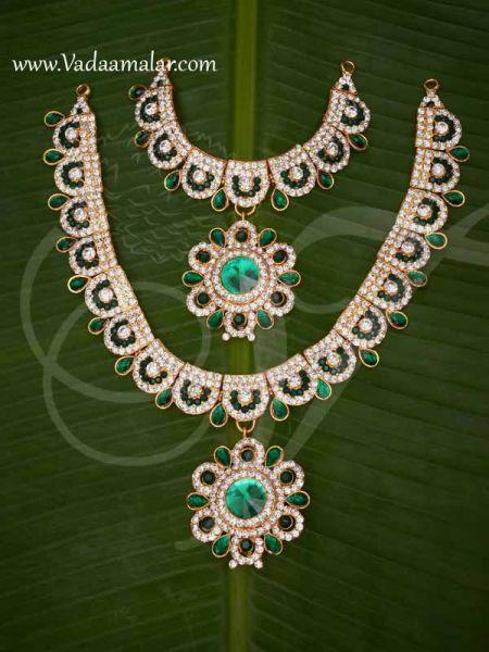 2 Step Necklace Haaram Jewellery Amman Alangaram Jewellery Buy Now