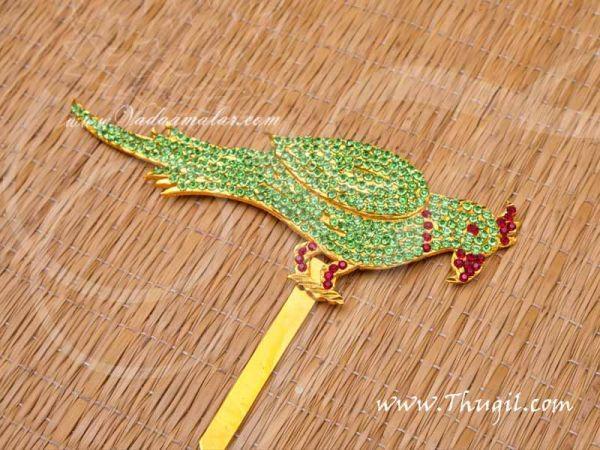 Parrot Jewellery Parvathi Meenakshi Amman Idols 4