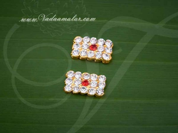 Tripundra Symbol Jewellery Vibuthi Siva Pattai Idol 2 pcs Buy Now 0.3