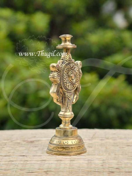 Shanku Chakram Brass Agarbathi stand from India Buy Online 4