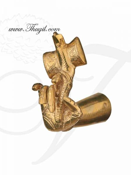 Hastham Pure brass Set hands for God Deity Decoration 4 inches