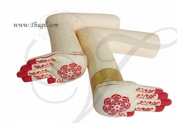 Flexible Hand and Legs for Goddess Varalakshmi Doll Decoration Buy Now 12