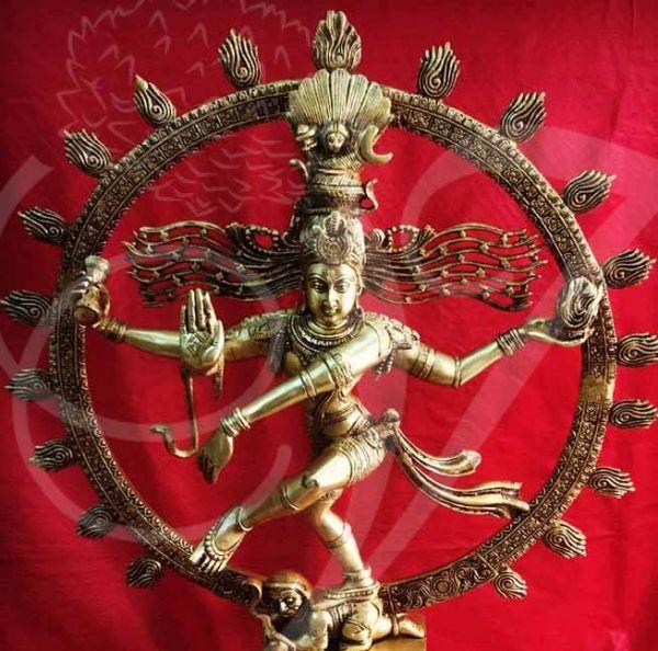 24 inches 2 feet Lord Nataraja Shiva Brass Statue Dancing Shiva Buy Now