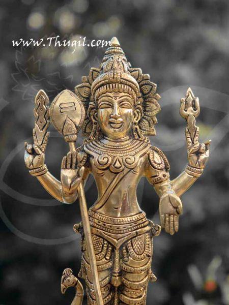 Lord Murugar Karthikeya Brass Statue Buy Now 12
