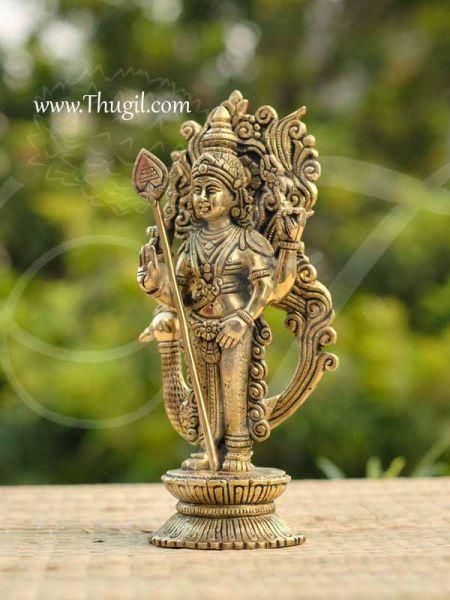 Brass Lord Murugar Karthikeya Statue Buy Now 10
