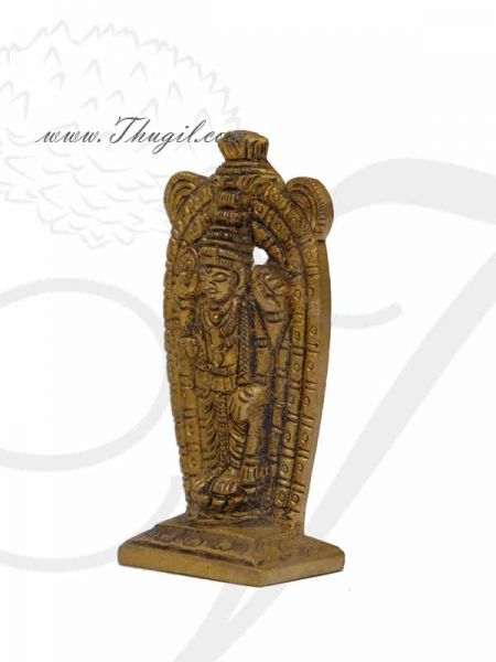 Guruvayur Sri Krishna Idol in Brass Statue Guruvurappan Buy Now 3