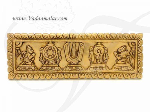 Shanku Chakra Thiru Namam Wall Hanging Door Decorations Buy Now 12