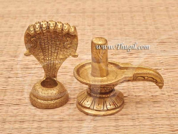 Brass Statue Hindu God Shiva Siva Lingam Buy Now 5