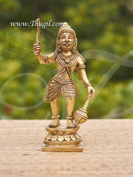 Madurai Veeran Ayyanar Brass Statue Great Warrior Of South India Statue Buy now 9