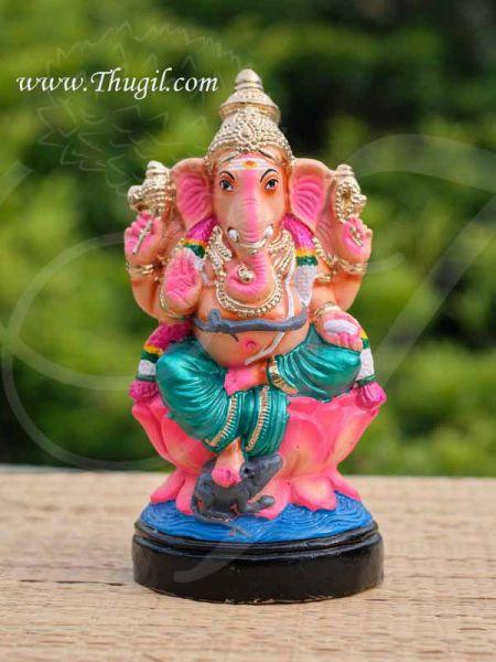 Ganesha Ganapathy Doll Vinaygar Paper Mache 10