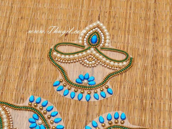 Plastic Arrangeable Kolam Rangoli Design