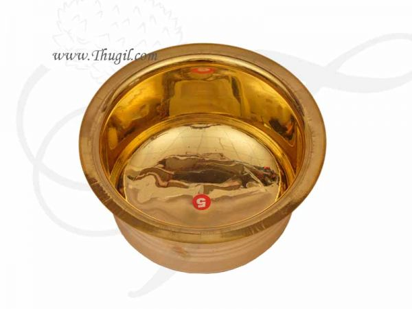 Brass Storage Container or Sembadam 5 inches Buy Now
