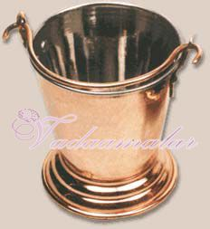 Indian Traditional Copper Coated Bucket Buy Now 6