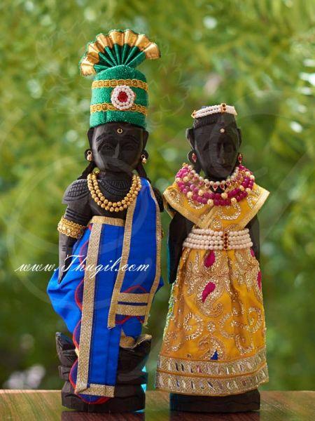 Beautiful Decoration Married Marapachi dolls bommai