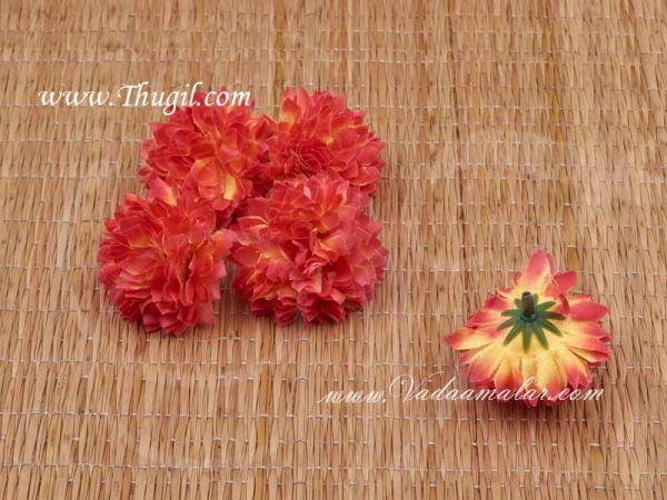 Red Sampangi Flowers Craft Artificial Flower pack of 20