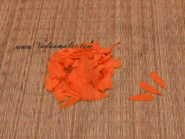 Orange Petals Samanthi Petal Cloth Flower Decoration Available online - 2000 petals