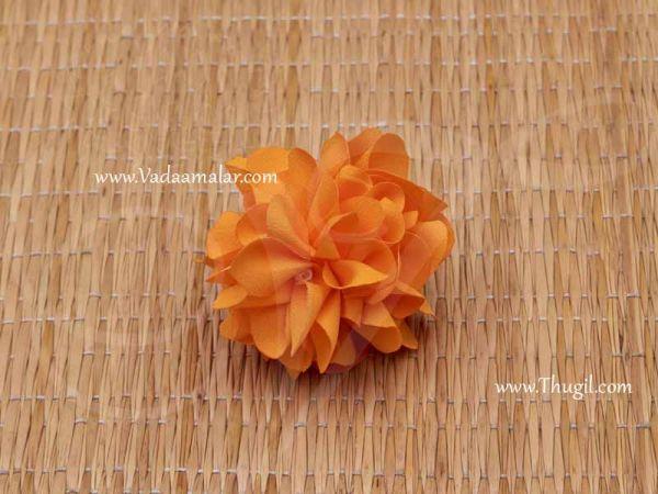 Marigold Flower Samanthi Cloth Flower Toran Decoration Buy Online 30 flowers