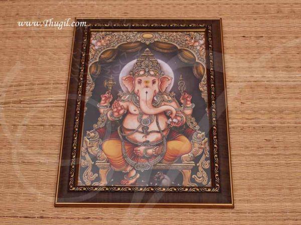 Photo Frame Lord Vinyagar Ganesha Laminated Buy Now 13