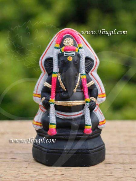 Karpaga VinayagarGanesha Ganapathy Doll Vinaygar Clay Buy Online 7