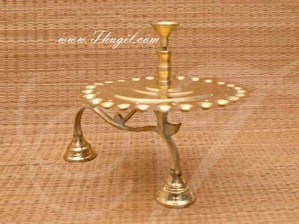 Brass Natchathira Aarathi Deepam Arati for Puja Buy Now Online