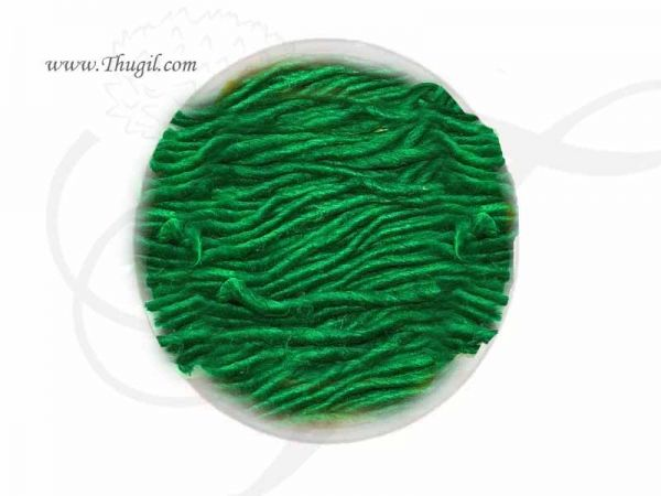 KUBERA Green Cotton Wick Vilakku Thiri Panju Jyot Batti Buy Now