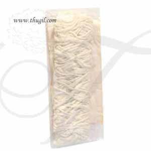 Continuous Long Cotton Wick Vilakku Thiri Panju Jyot Batti Buy Now