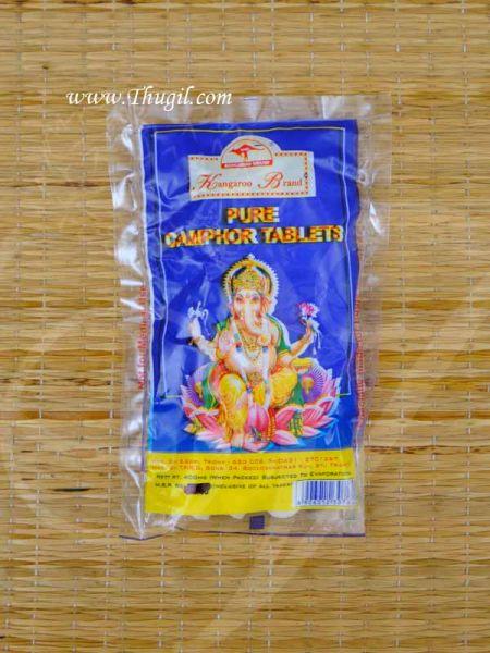 40 gms Kangaroo Pure Camphor Tablet Karpooram Puja Karpur Buy Online Now