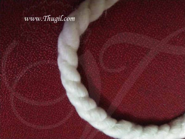 9 Inch Cotton Wick Vilakku thiri Panju thiri Jyot Batti Buy Now - 5 pieces
