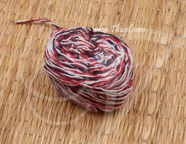 3 Colour Cotton Thread Nool Kandu Colour Buy Now Online