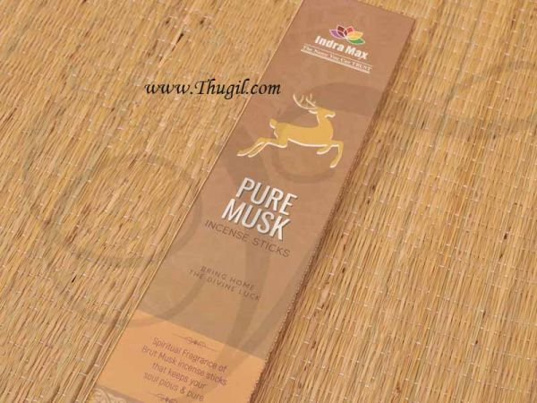 Indra Max Pure Musk Incense Sticks Agarbathies Buy Now Online