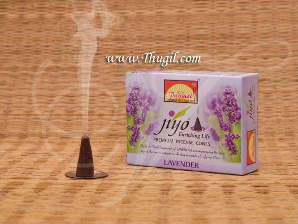 Jiyo Dhoop Lavender Sambrani Dhoopam For Pooja Samagri from India Buy Now
