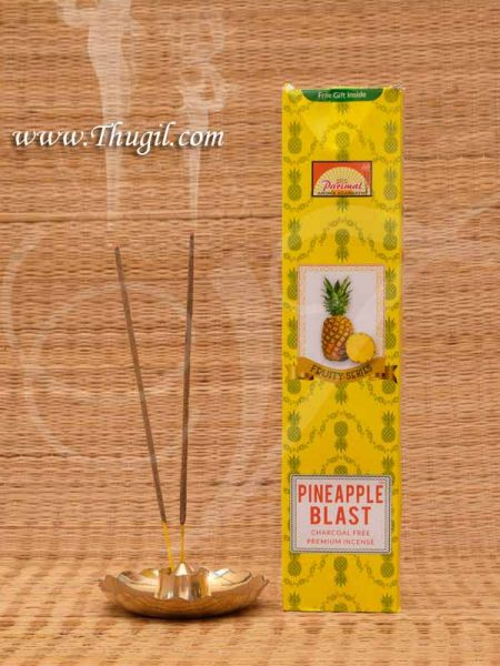Pineapple Charcoal Premium Incense Sticks Agarbathies Buy Now Online