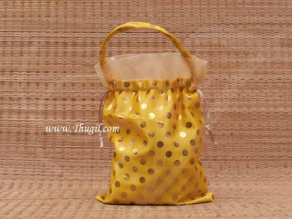Polka Dots Wedding Return Gift Bags Thambola Pai 8 x 10 Buy Now