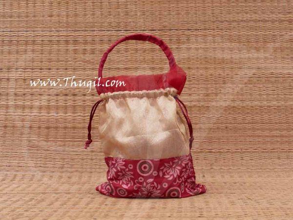 Cloth Potli Bags Wedding Return Gift Pouch Thamboolam Bags  - 10 x 7 Buy Now