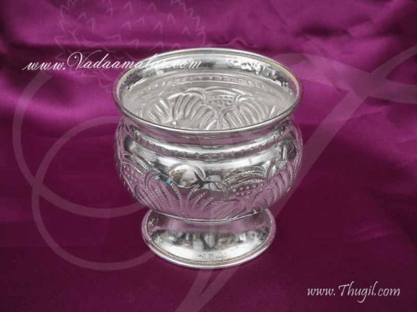 German Silver Puja Set Wedding Ashtalakshmi Kalasham Buy Now