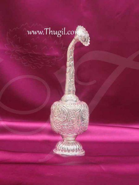 German Silver Paneer Sombu Rose Water Pot For Welcome Buy Now 8