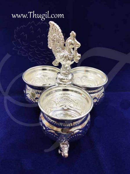 German Silver Chandan Kumkum Wedding Weclome Set Buy now 4