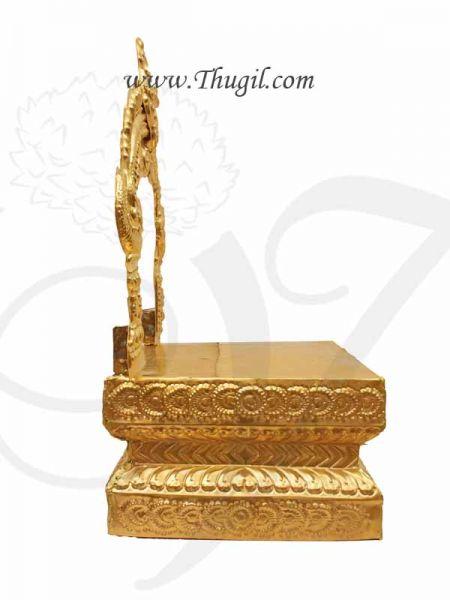 Brass Prabhavali & Pedestal Thiruvachi Arch Gold Plated Buy Online