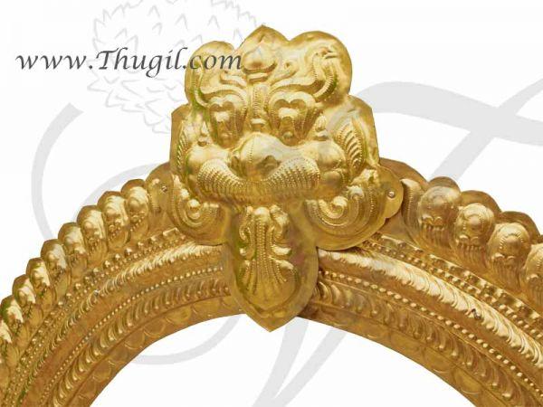 3 feet Temple Prabhavali Brass Thiruvachi Arch deity Idols No Rod Buy Online