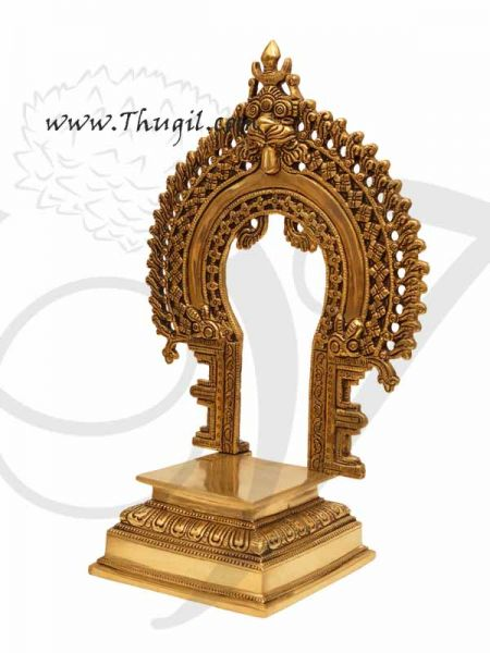 Brass Prabhavali Thiruvachi Pedestal for God Statues Buy Online 10